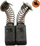 Balais de charbon pour outils à main électriques Hitachi - SKU: ca-17-092 - En vente sur Balaischarbon.ch